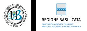 Unibas, Dipartimento Ambiente e Territorio Infrastrutture Opere Pubbliche e Trasporti, Regione Basilicata